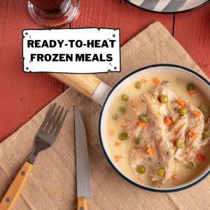 Ready to Heat Gourmet Frozen Meals